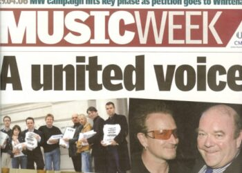 Music Week Frontpage