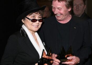 Yoko Ono and Joe Brown